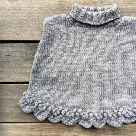 STIKKELSBÆR PONCHO - KNITTING FOR OLIVE