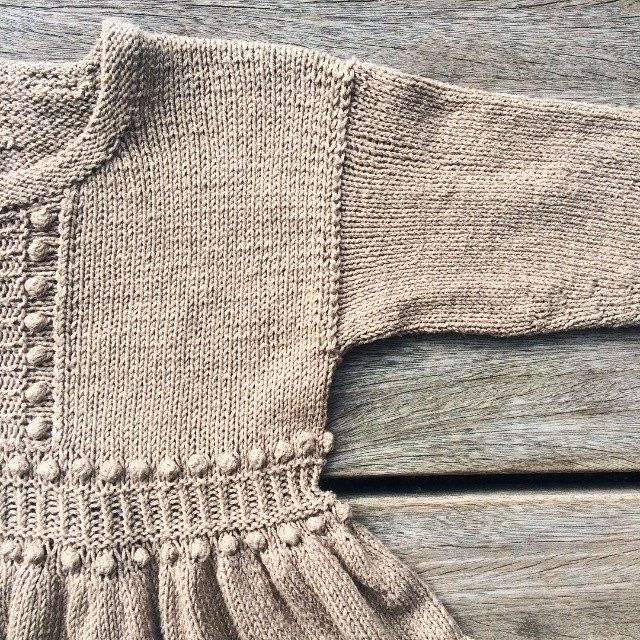 Bohemeperletop - Knitting for Olive